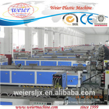 sjsz-65/132 wood plastic wpc profile decking machine