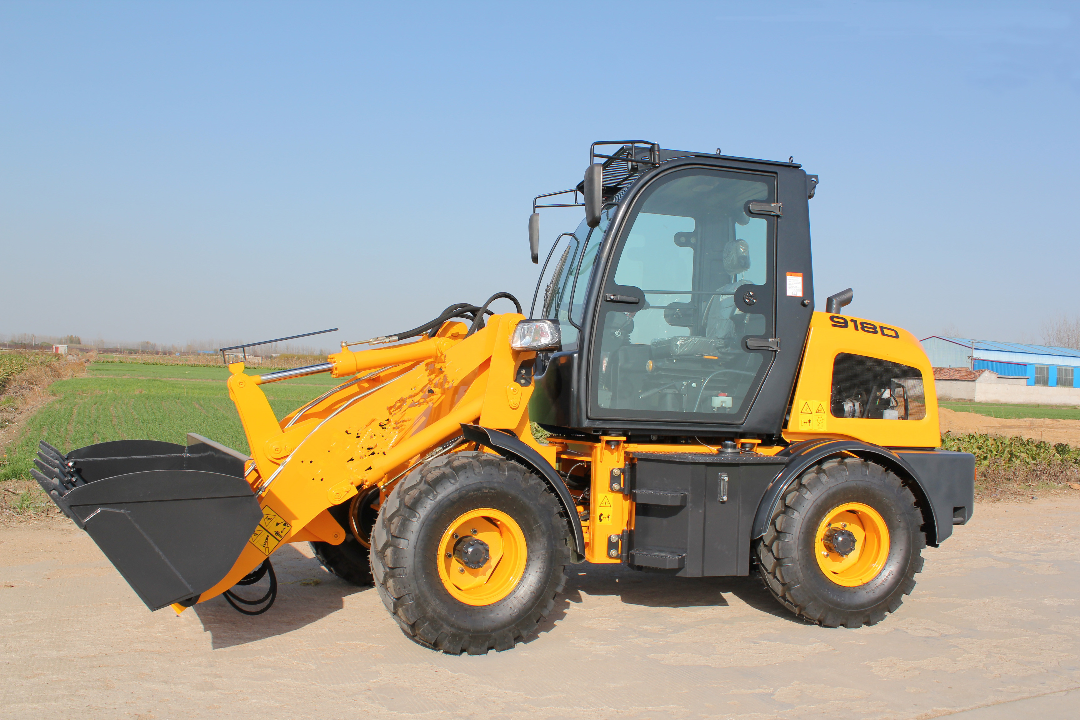 Small Size Wheel Loader