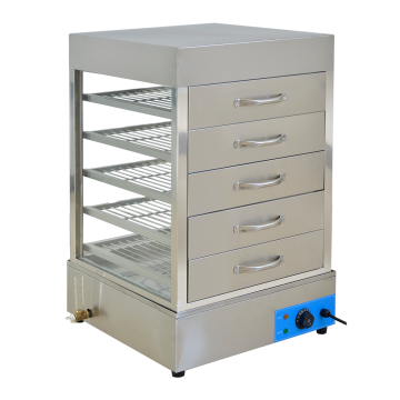 Stainless Steel Steam Insulated Display Cabinet