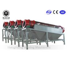 Pantalla de tambor de accionamiento central de gran capacidad / tamiz