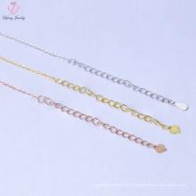 Nueva cadena de collar de plata esterlina del precio 925 del diseño Bluk para los hombres