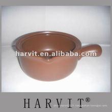 Pot de céramique à l'épreuve de la chaleur