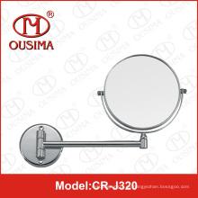 Espejo plegable de pared del maquillaje para el cuarto de baño
