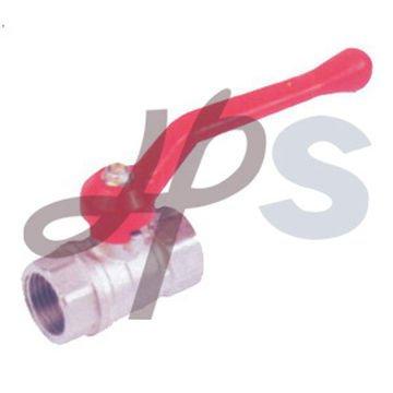 brass ball valve with zinc-alloy handle