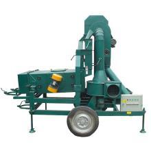 Getreidereinigungsmaschine mit Staubabscheider