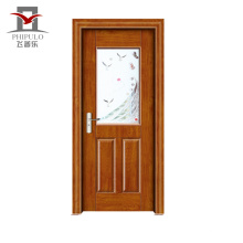 Porta interior moderna de madeira Eco-Amigável de aço do baixo preço-Assegurada