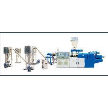 Máquina de granulación de plástico PVC