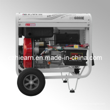 5kw Open Frame Luxus Typ Single Zylinder Diesel Generator Set (DG6000E)