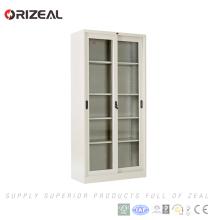 Cabinet de classement de porte coulissante de verre d'Orizeal (OZ-OSC002)