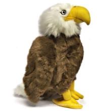 Diseño personalizado de OEM juguetes de peluche águila