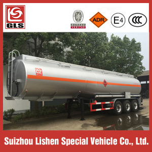 Tri-axle 43.5CBM Flammable Liquids Transport Tank Trailer