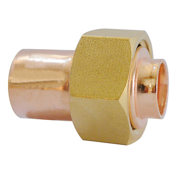 End Feed Straight Cylinder Union