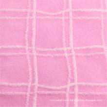 80% Polyester 20% Laine de vêtement Tissu en laine