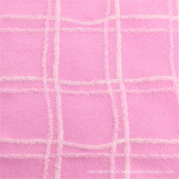 80% poliéster 20% lã de tecido de lã de vestuário
