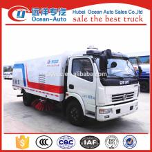 DFAC 5cbm dust bin capacity road sweeping machine for sale