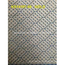 Африканский шнурок шнурка ткани 2015 / синий шнурок кружева ткани / шнур кружево ткани