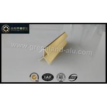 Alumínio Ouro Bright Corner Edge Trim Perfil