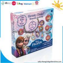 Dondurulmuş Shrinky Dinks Bilezik Aktivitesi