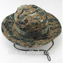 2014 moda personalizado em branco alta qualidade barato 100% algodão outdoor pesca balde chapéu