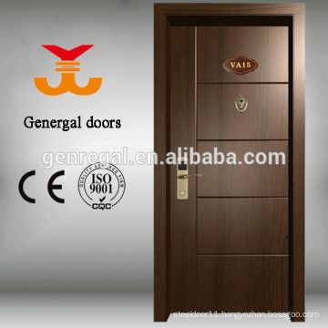 BS476 tested 60mins Fire resistance hotel wood doors