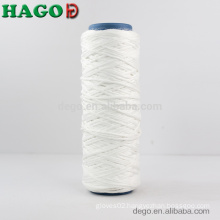 100% Polyester White Microfiber Mop Yarn