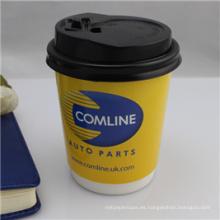 Taza de papel impresa caliente del café de la bebida de la categoría alimenticia