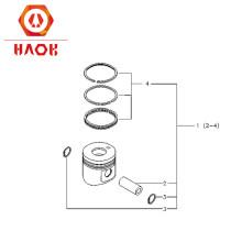 Deutz diesel engine spare parts  piston kit 04235032