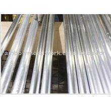 Pôle d'aluminium utilisé dans le poteau d'éclairage et le signal de circulation
