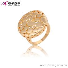 Anillo de dedo simple de la joyería de imitación de la manera 18k chapado en oro - 13618