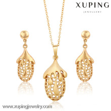 62728-Xuping Hight Quality Costume Jewelry Wholesale Jewelry Set