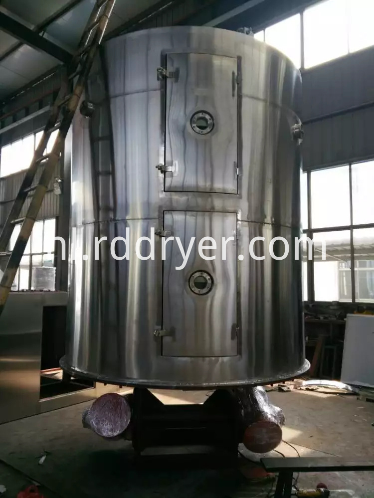 Continuous Vacuum Plate Dryer Machine