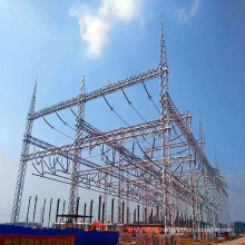 500kv Angle Steel Power Transmission Substation Architecture