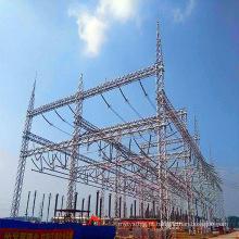 500kv Ângulo de aço de transmissão de energia subestação Arquitetura