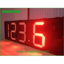 LED muestra del precio del combustible