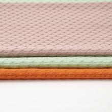 Poly Cotton Span Jacquard Strickstoff