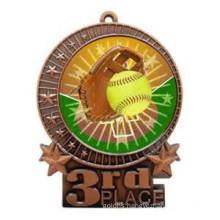 High Quality Wholesale Custom Souvenir Softball Medal