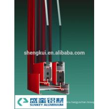 Powder Coating A80 Sliding Windows Aluminum Profiles Aluminum Extrusions