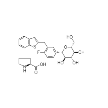 Hot Sale Lpragliflozin L-Proline CAS 951382-34-6