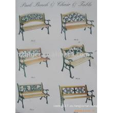 muebles de jardín, muebles de jardín, sillas para exteriores, fundición