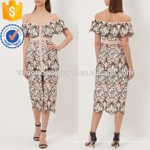 Ню печатных Миди платье хлопок Производство Оптовая продажа женской одежды (TA4048D)