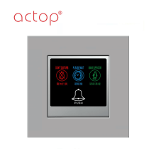 ACTOP Smart hotel room control door plates new
