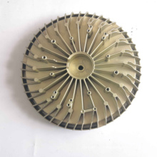 Electrophoresis Processing Aluminum 100W Die Casting LED Heatsink