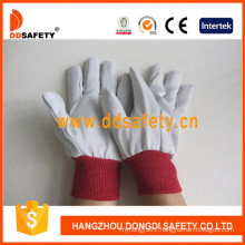 Knitted Wrist Canvas Glove Dcd102