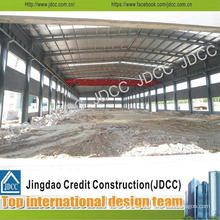 Structure Steel Warehouse with Cement Composite Panels