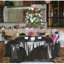 elegant chair cover& table cloth