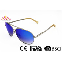 Metal Sport New Coming UV Protection Sunglaases com BSCI (14389)