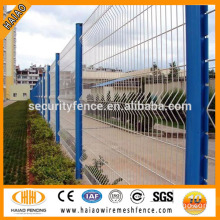Galvanized & powder coated welded wire mesh fence panels in 12 gauge
