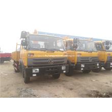 Grues montées sur camion Dongfeng 4x2 Boom à vendre