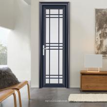 Porta de alumínio do quarto do vidro geado do fabricante de China e porta do toalete (FT-D80)