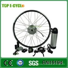 Kit de motor 700c para kit de bicicleta com bateria de garrafa de água